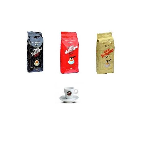 Vergnano 3kg kávy + hrneček zdarma