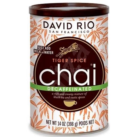 David Rio Tiger Spice Decaffeinated Chai 398g