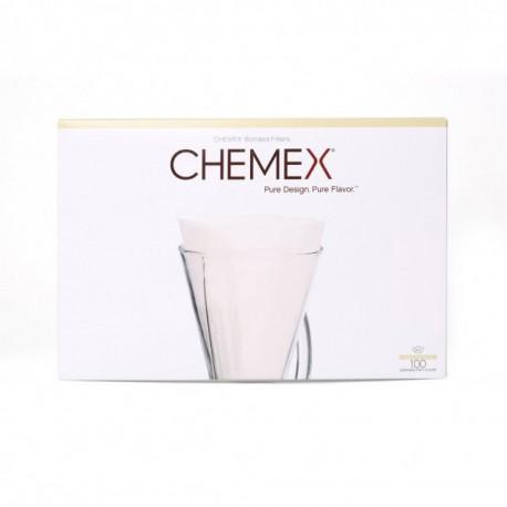 Chemex papírový filtr na 1-3 šálky, bílý. 100 ks.