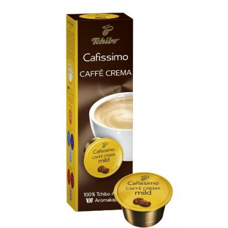 Tchibo Caffissimo Caffé Crema Mild, kapsle 10ks
